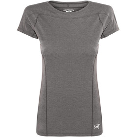 Arc'teryx Taema Shortsleeve Shirt Women grey